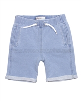 Deux par Deux Boys' Sweat Shorts Crab Me Up