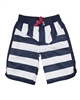 Deux par Deux Boys SStriped Surfer Shorts