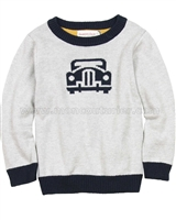 Deux par Deux Gray Sweater  Off Road