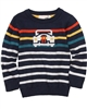 Deux par Deux Navy Sweater  Off Road