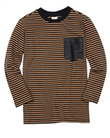 Deux par Deux Striped T-shirt Play It Like Crockett