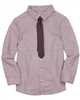 Deux par Deux Burgundy Shirt with Tie Maestro!