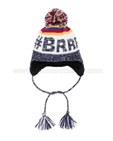 Deux par Deux Ear-flap Hat Expedition # Brrr!