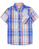 Deux par Deux Plaid Shirt Le Grand Bleu