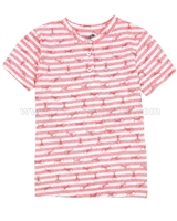 Deux par Deux Striped T-shirt  Le Grand Bleu