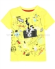 Deux par Deux Yellow T-shirt with Print  Bugs Bebop