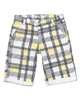 Deux par Deux Plaid Shorts Monkey See Monkey Do