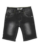 Deux par Deux Denim Bermuda Shorts Monkey See Monkey Do