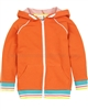 Deux par Deux Orange Hooded Sweatshirt Surf Away