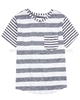Deux par Deux Blue Striped T-shirt Surf Away