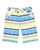 Deux par Deux Plaid Shorts Surf Away