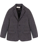 Deux par Deux Charcoal Blazer Suit up