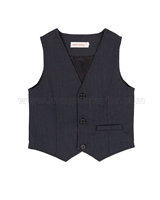 Deux par Deux Anthracite Vest Suit up