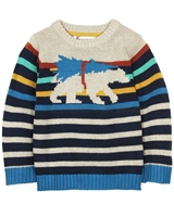 Deux par Deux Striped Sweater Whistle Punk