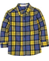 Deux par Deux Plaid Shirt Whistle Punk