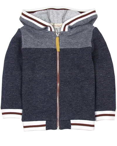 Deux par Deux Hooded Sweatshirt Whistle Punk