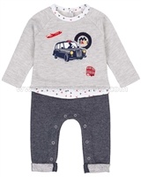 Deux par Deux Baby Boys' Two-piece Sets Oh, Yeah!