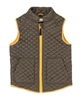 Deux par Deux Quilted Vest Hey, Buffalo Hill