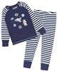 Deux par Deux Striped Pants and T-shirt Pyjamas Set