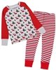 Deux par Deux Christmas Pants and T-shirt Pyjamas Set