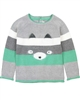 Deux par Deux Striped Sweater Soft Eyes