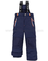 Deux par Deux Boys' Technical Snowpants Navy