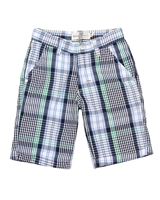 Deux par Deux Plaid Shorts Woody Buddy
