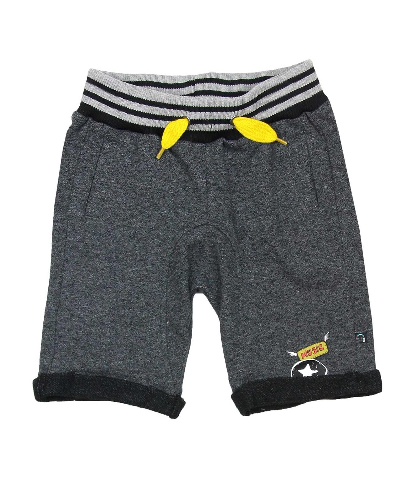Deux par Deux Boys/' Terry Pants in Gray Boombox Sizes 5-12