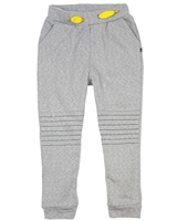 Deux par Deux Terry Pants in Gray Boombox
