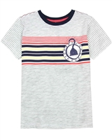 Deux par Deux Striped T-shirt Only Pirates Allowed