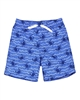 Deux par Deux Surfer Shorts in Crab Print Playa Del Mar