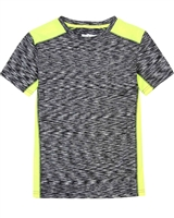 Deux par Deux Colour-Block T-shirt Jump, Shout and Run