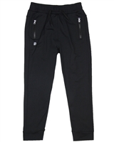 Deux par Deux Sport Pants in Black Jump, Shout and Run