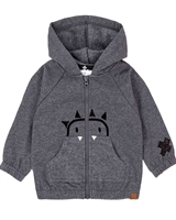 Deux par Deux Baby Boys' Hoodie Unicorns and Dinos