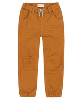 Deux par Deux Boys Pants with Elastic Cuffs Go Mecano