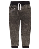 Deux par Deux Boys Stone Washed Corduroy Pants Forest Fest