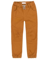 Deux par Deux Boys Elastic Cuffs CanvasPants Foodies Alert
