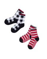 Deux par Deux Boys Socks Foodies Alert