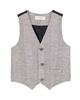 Deux par Deux Boys Dress Vest Night King