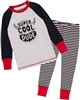 Deux par Deux Boys Pyjamas Set with Striped Pants