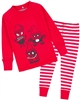 Deux par Deux Boys Pyjamas Set with Christmas Elves
