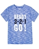 Deux par Deux Boys Sport T-shirt Ready, Set, Go!