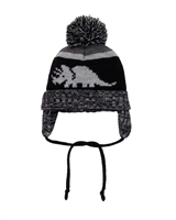 Deux par Deux Boys Ear-Flap Hat Dinos are Back