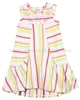 Deux par Deux Striped Jersey Dress Feathery Friend