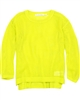 Deux par Deux Mesh Sweater Yellow Toucan Do It