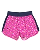 Deux par Deux Printed Shorts Fushia Toucan Do It