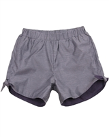 Deux par Deux Chambray Shorts Je men Fish