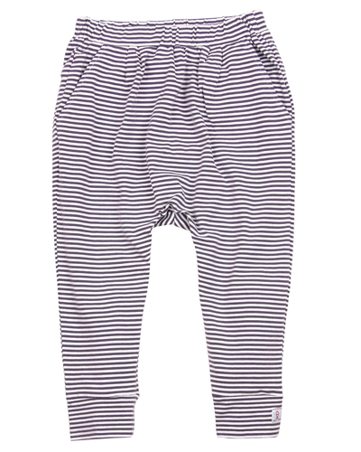 Deux par Deux Striped Sarouel Pants Je men Fish