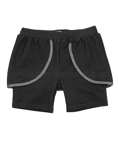 Deux par Deux Jegging Shorts Black