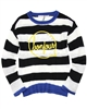 Deux par Deux Striped Swester Paris Je T'aime